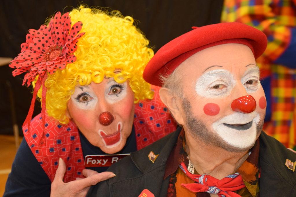 Clowns Clowning